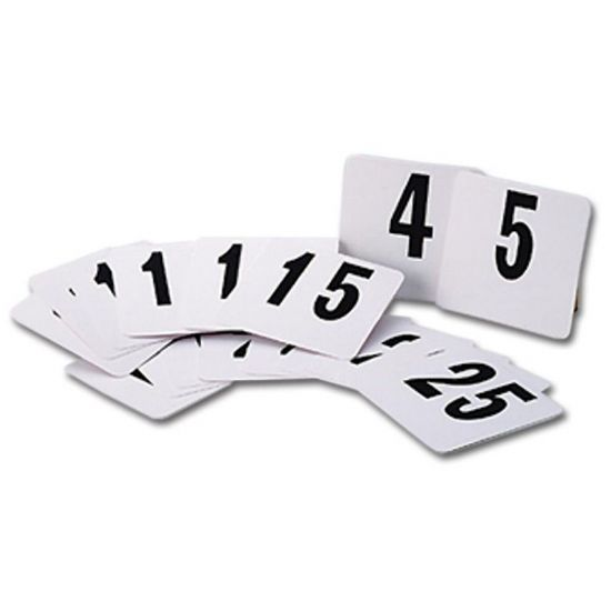 Table Numbers & Information